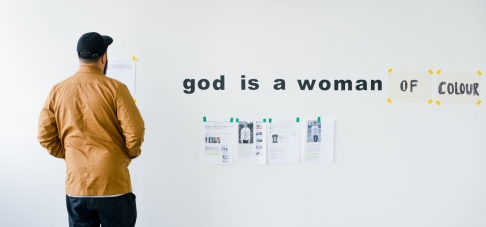 SOUP feminist residency at Stryx, Spring 2015, credit Marcin Sz
