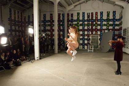 MARCH 2016 Performance as Publishing: Take One, Eddie Peake, Phil Coy, Ruth Beale, Eastside Projects Images courtesy of Performance as Publishing and Marcin Sz