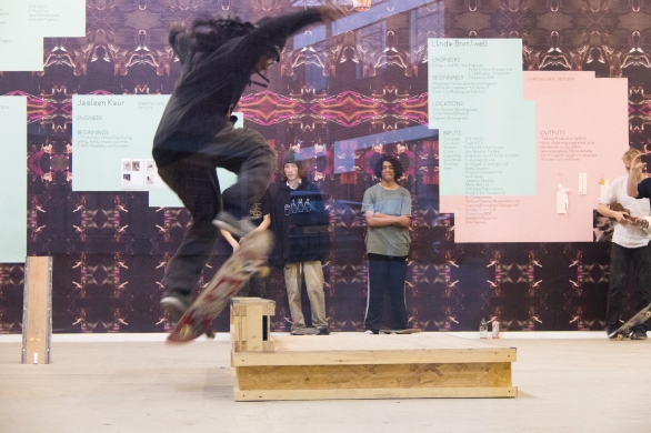 APRIL 17 Sonia Boyce: Wallpaper / Performance, Eastside Projects