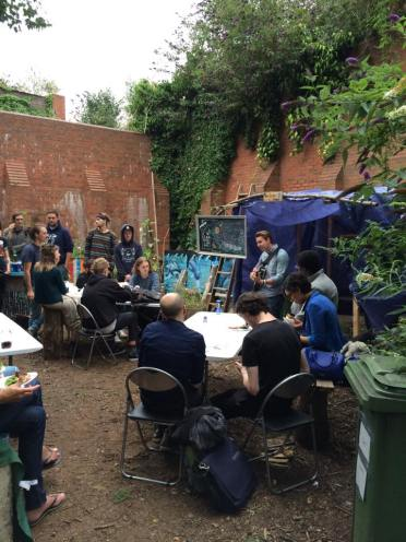 Digbeth Community Garden, August 2015