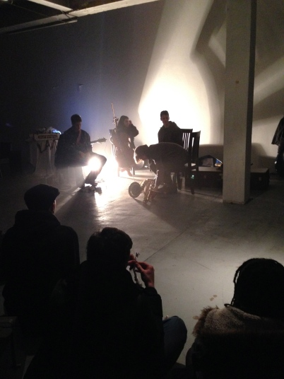 Ideas of Noise, Home for Waifs and Strays, March 2015