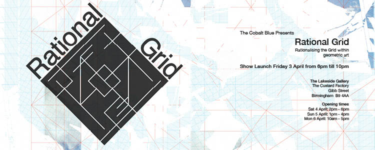 The Cobalt Blue Rational Grid WORDPRESS BANNER for 3rd April 2015