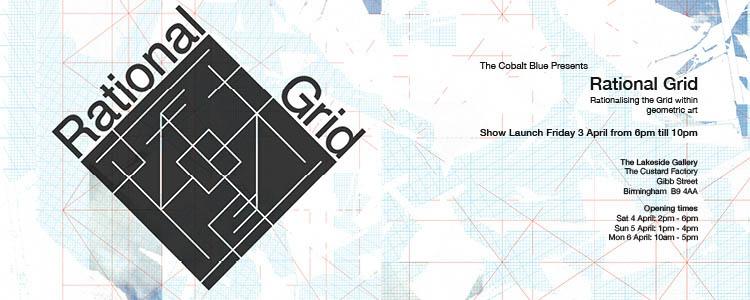 The Cobalt Blue Rational Grid WORDPRESS BANNER for 3rd April 2015